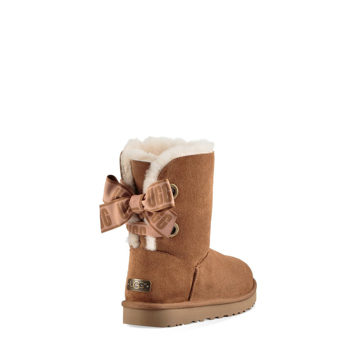 UGG Women's Customizable Bailey Bow Short Boot Womens shoes Ugg 191142740043
