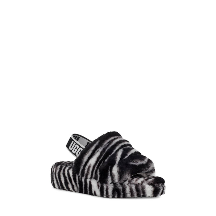 UGG Women's Fluff Yeah Slide Zebra Womens shoes Ugg 194715124714