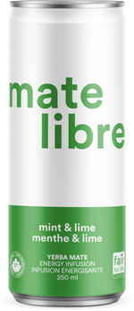 Load image into Gallery viewer, Mate Libre Mint & Lime (8x 250ml)