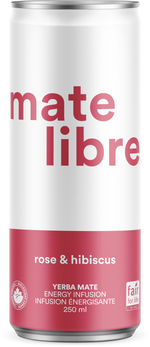 Load image into Gallery viewer, Mate Libre Rose & Hibiscus (8x 250ml)
