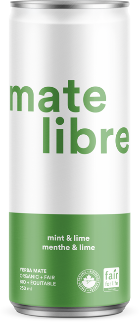 Mate Libre Mint & Lime (24x250ml) / COMMERCIAL