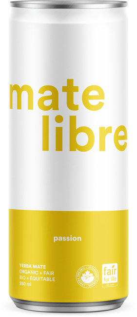 Mate Libre Passion (24x250ml) / COMMERCIAL