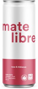 Mate Libre Rose & Hibiscus (12x250ml) / COMMERCIAL
