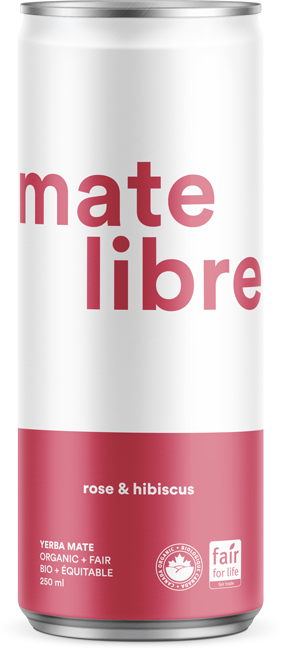 Mate Libre Rose & Hibiscus (12x 250ml)