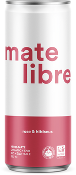 Load image into Gallery viewer, Mate Libre Rose & Hibiscus (12x 250ml)