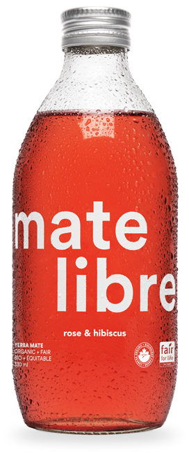 Mate Libre Rose & Hibiscus (24x330ml) / COMMERCIAL