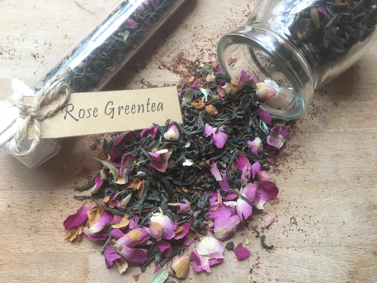 Rose green tea 玫瑰绿茶