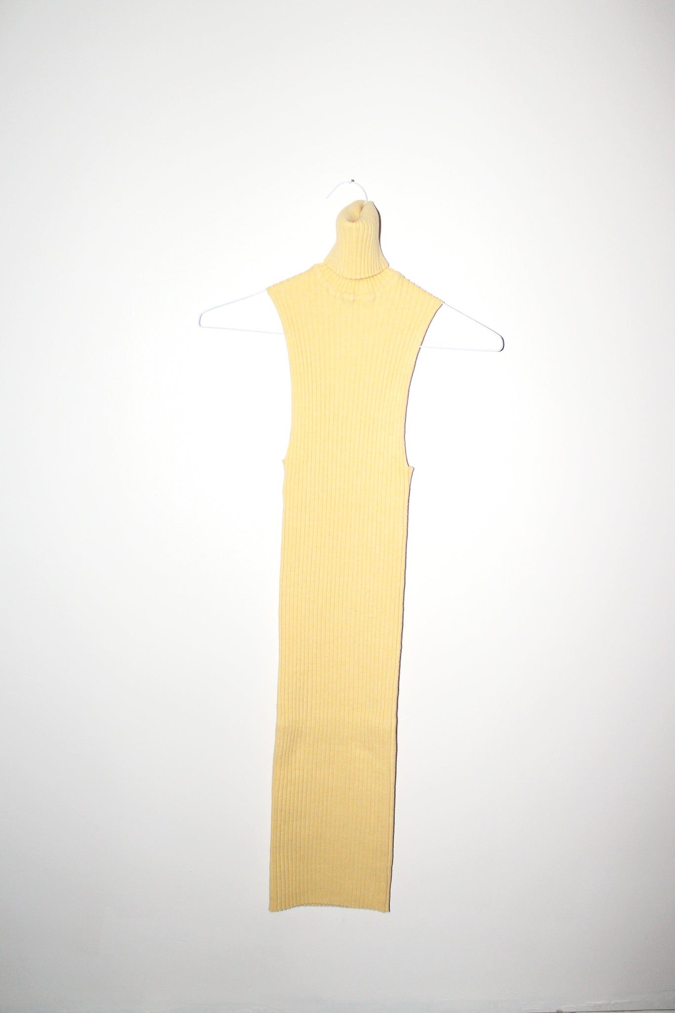 NONNA Turtleneck Mini Dress in Chamomile