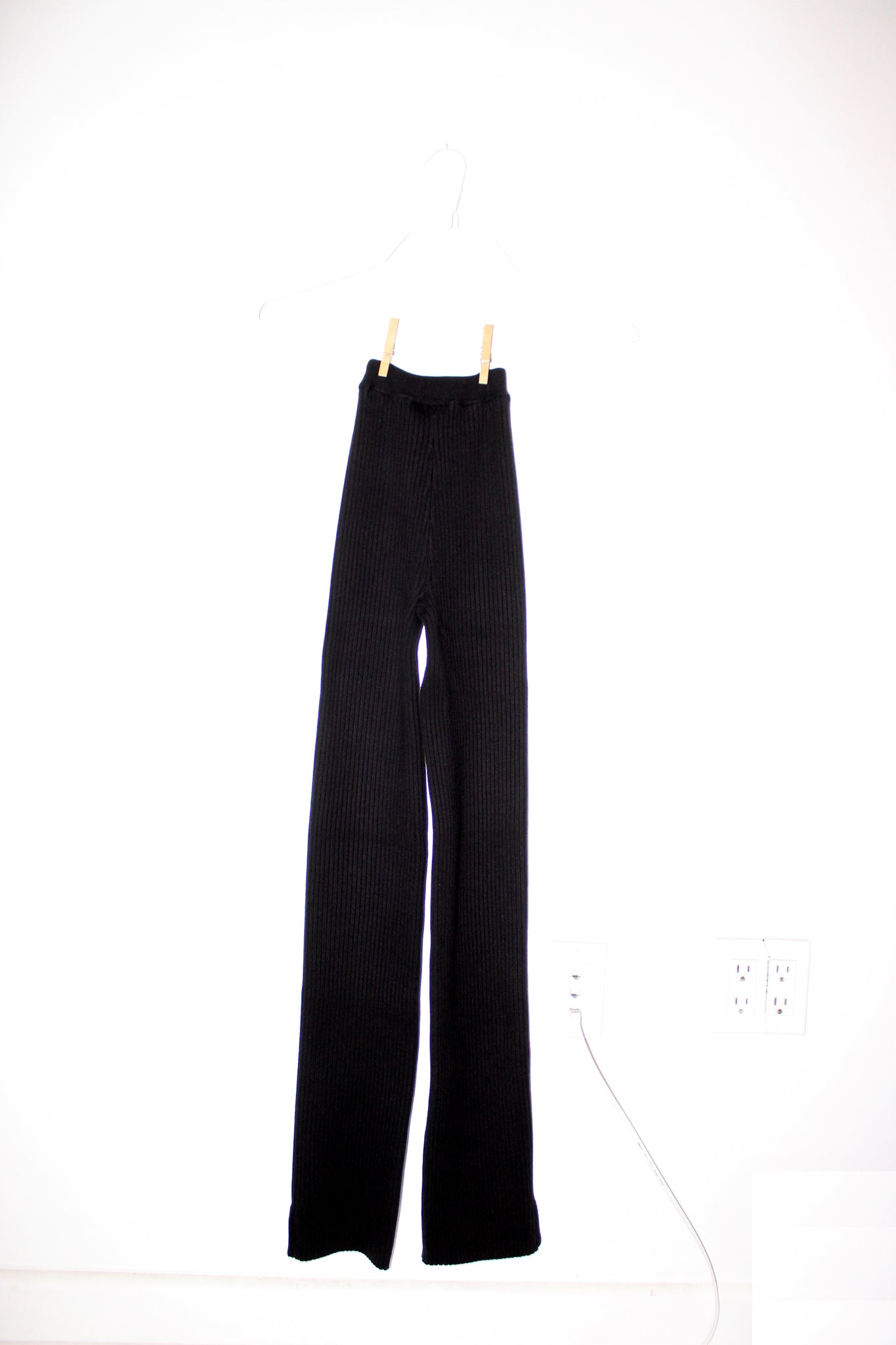 NONNA Pants X-Long in Onyx