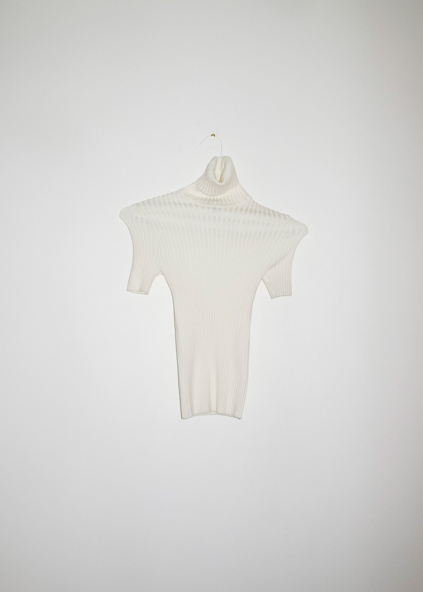 NONNA Turtleneck Tee in Ivory