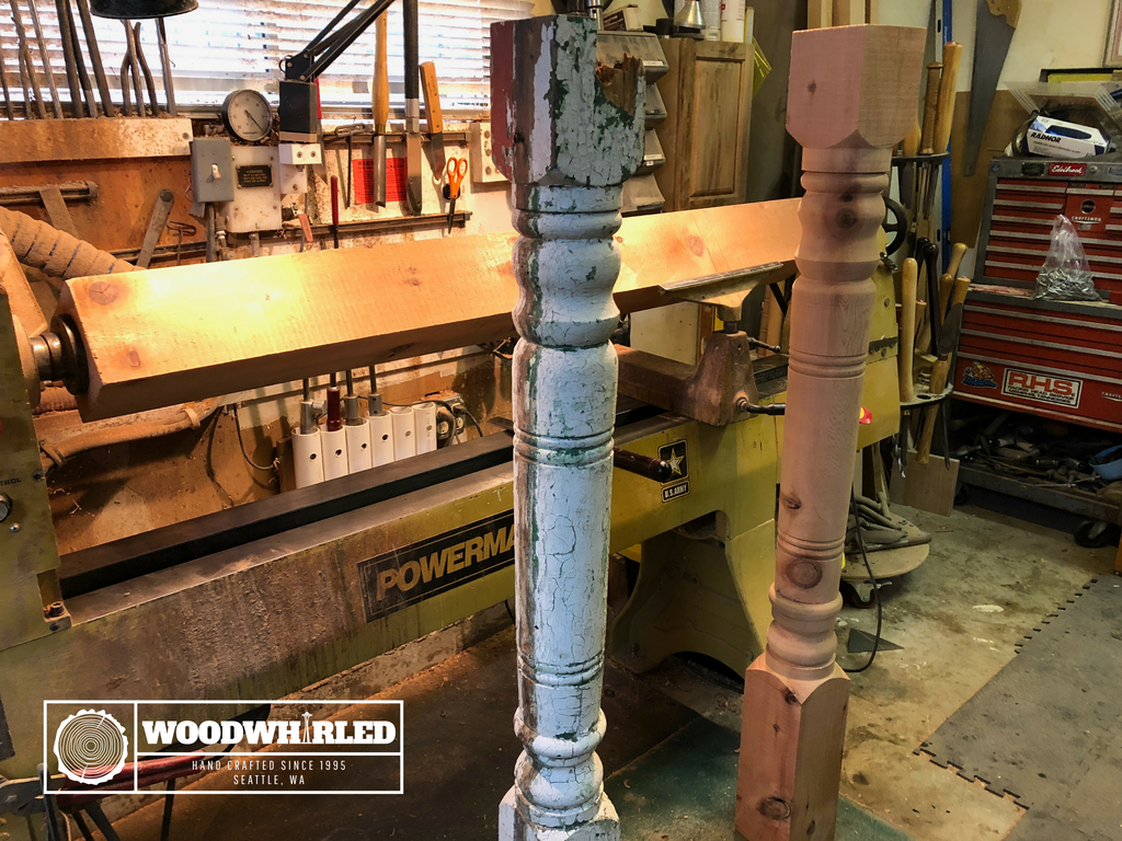 Turning project: Architectural columns