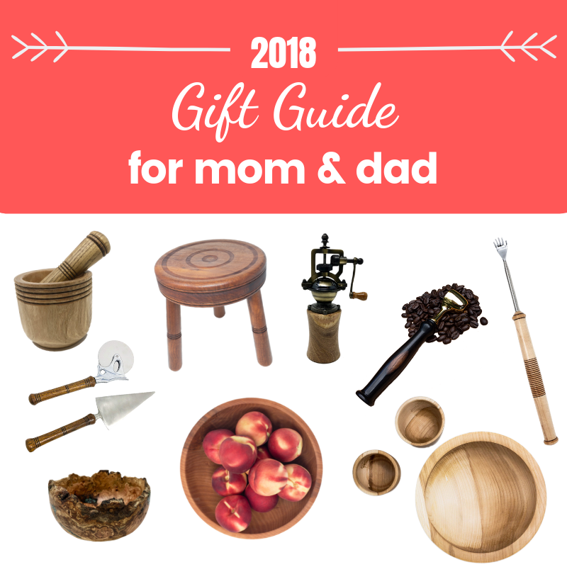 Holiday Gift Guide for Mom & Dad