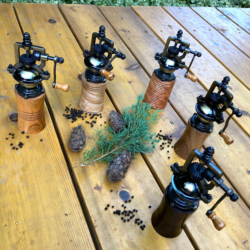 Making an Antique-Style Pepper Grinder