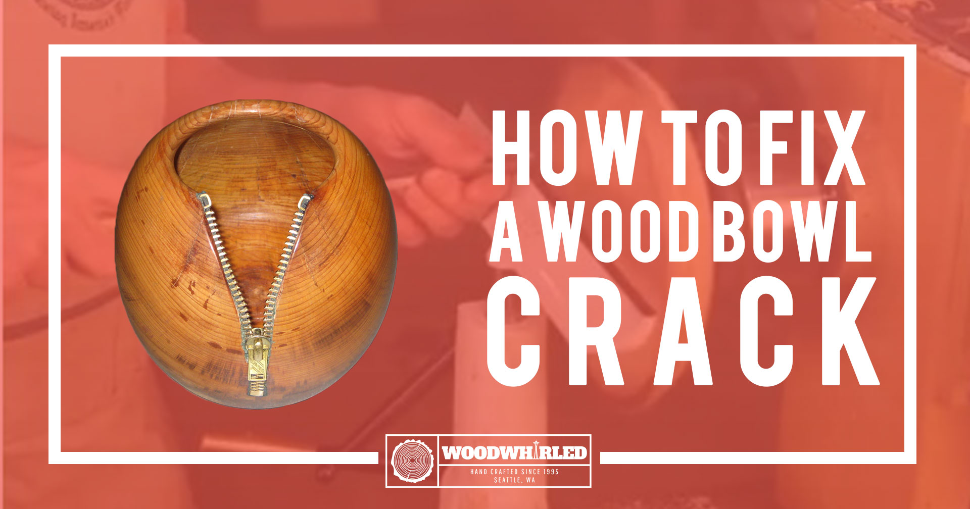 How to fix a wood crack into a feature