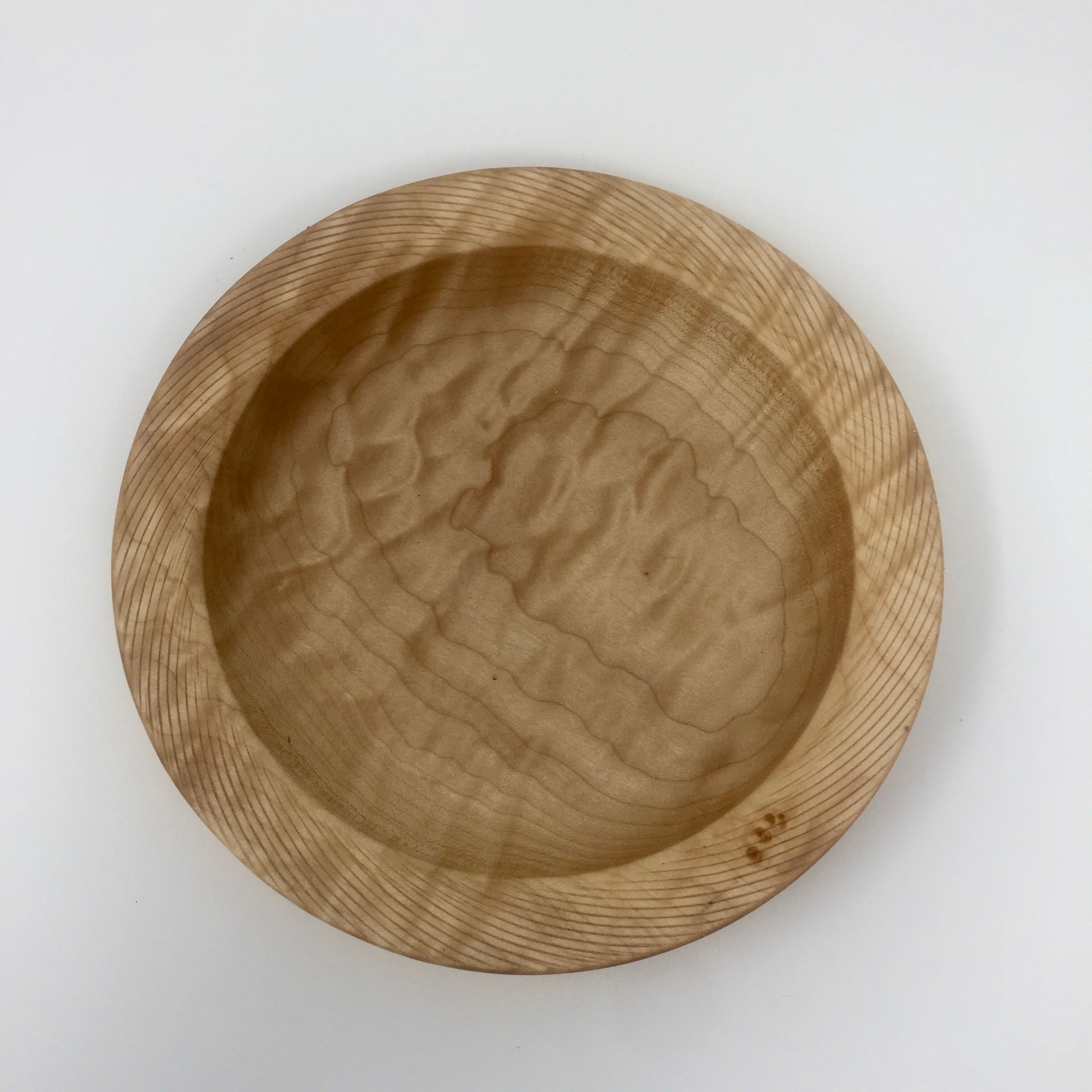 Quilted Maple  Art Bowl