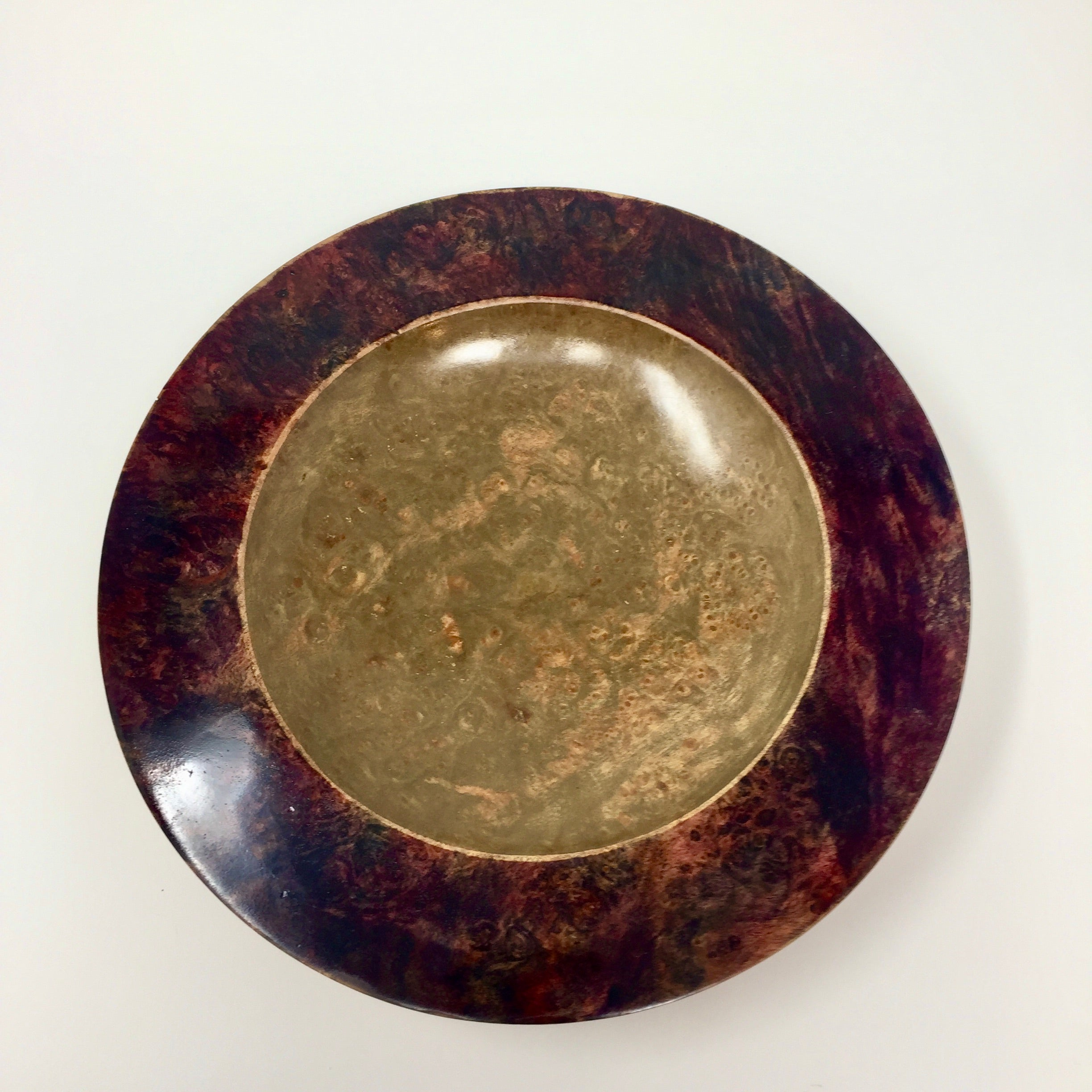 Velvet Stain Maple Burl Bowl