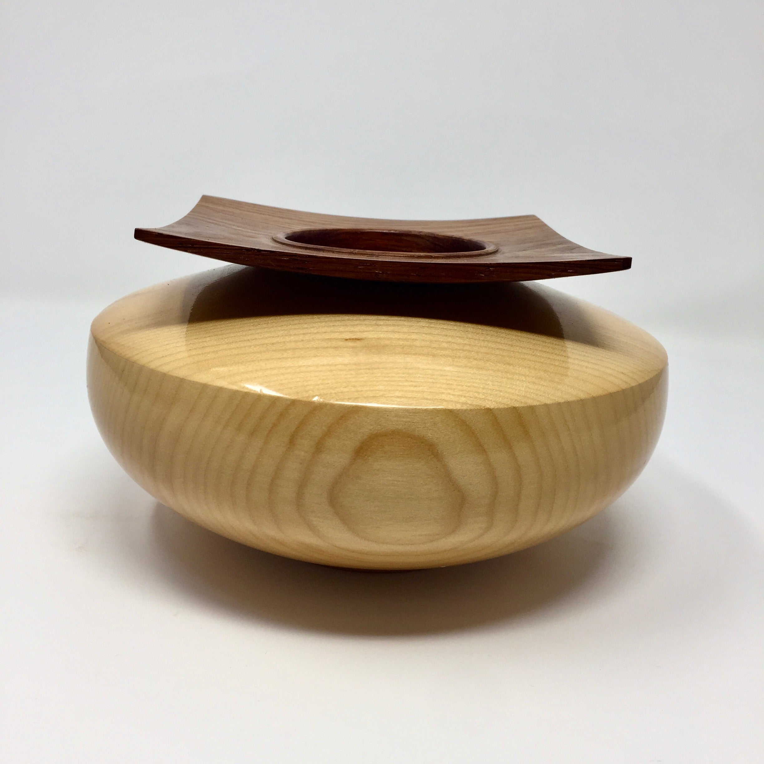 SQUARE TOP ART BOWL