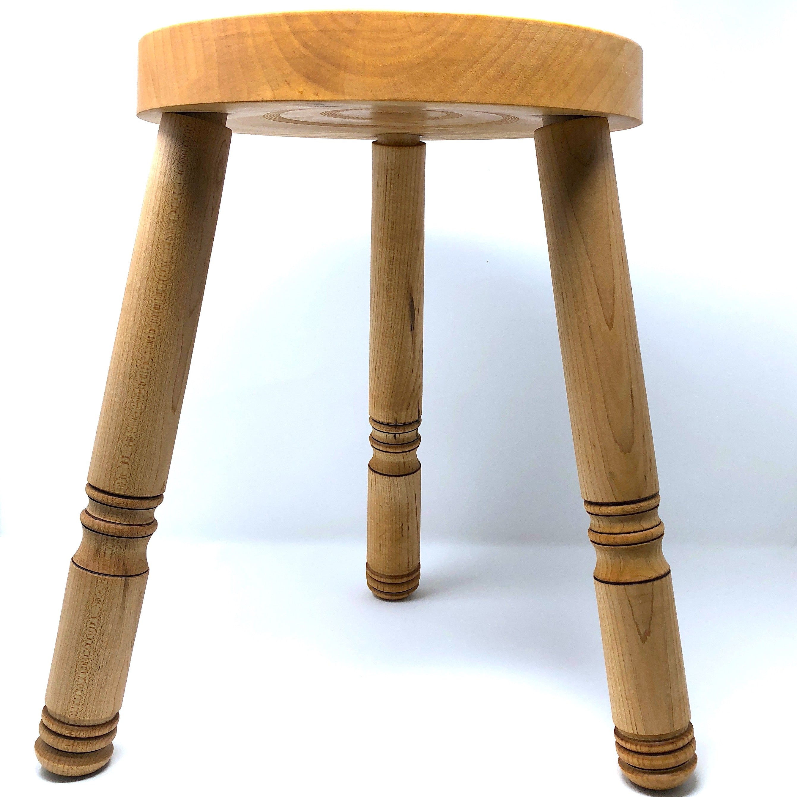 3 Legged Maple Stool