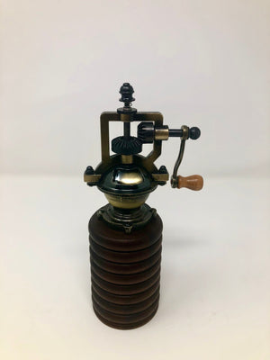 Antique-style Brass Pepper Mill