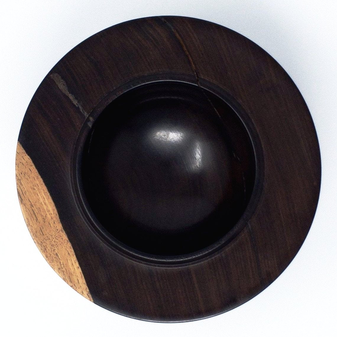 African Blackwood Art Bowl