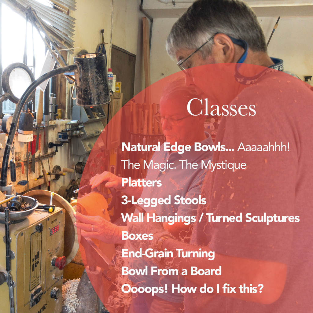 Woodturning 102 - Beyond the Basics Class