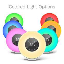 Daylight Simulation Alarm Clock