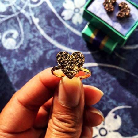 Sparkling Heart Ring I