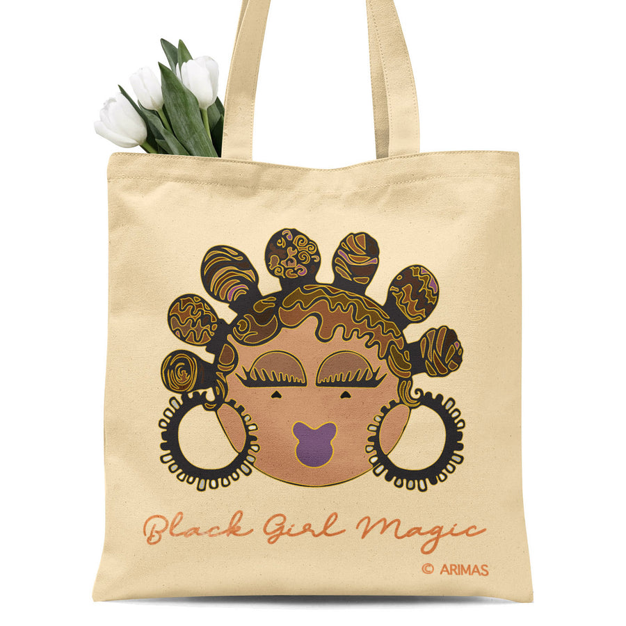 © Bantu Knots Tote Bag