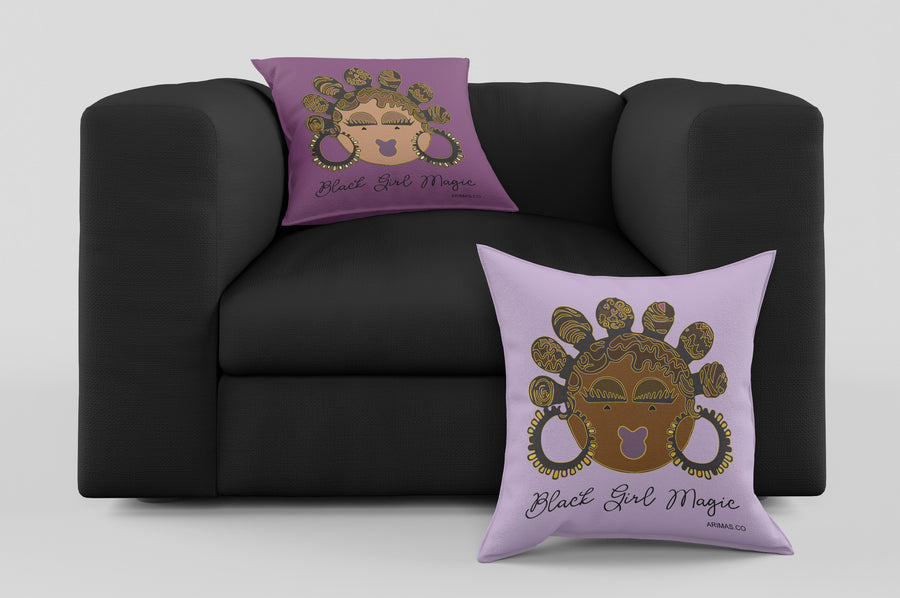 "© Bantu Knots Decorative Pillow ( 17"")"
