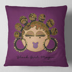 © Bantu Knots Decorative Pillow ( 17