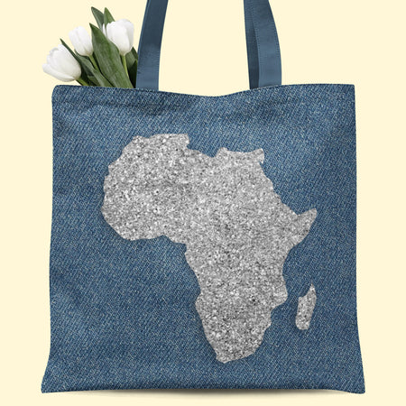 © Denim Africa Tote Bag