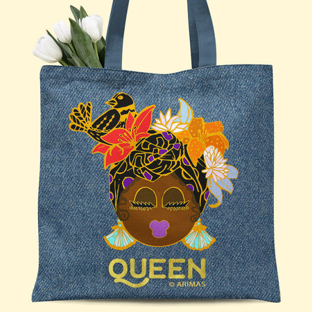 © Denim Queen Tote Bag