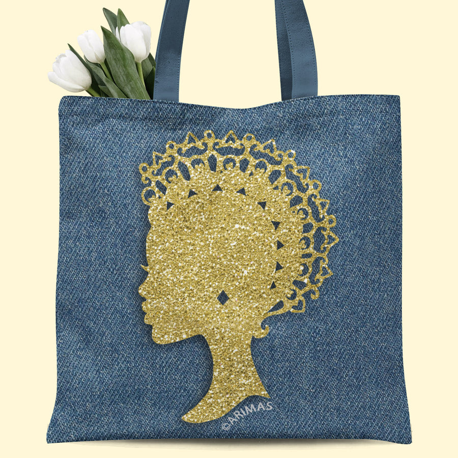 © Denim Empress Tote Bag