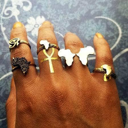 Africa Secret Message Finger Cuff