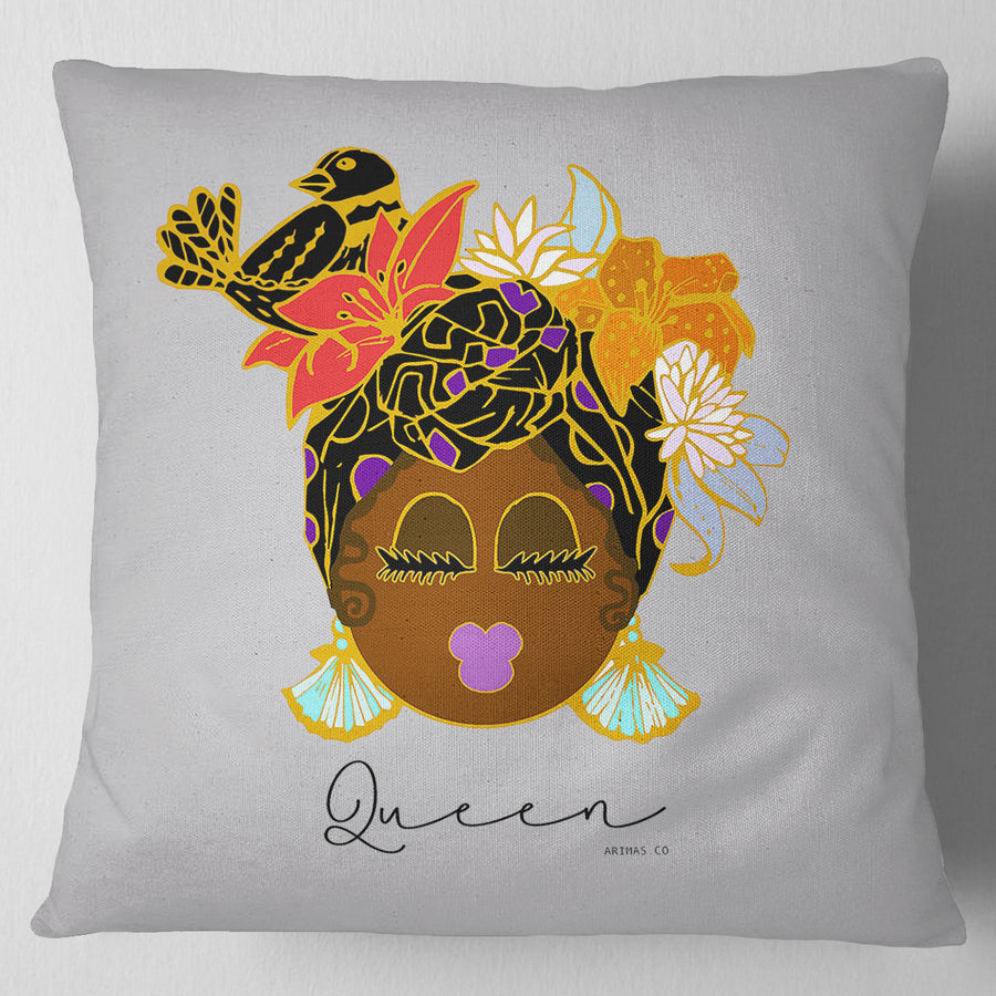 "© Caribbean Queen Decorative Pillow ( 17"") - Arimas"