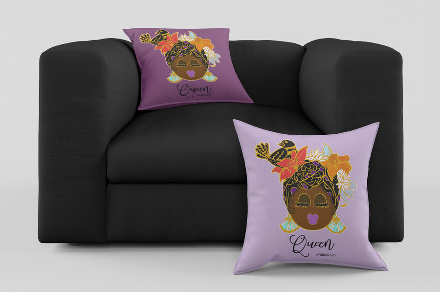 "© Caribbean Queen Decorative Pillow ( 17"")"