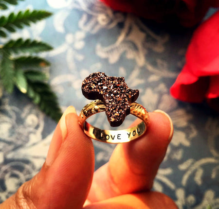 Sparkling Africa Ring II