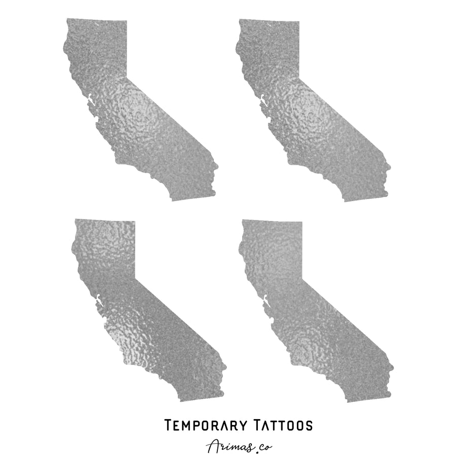 Custom Location Tattoos (Quantity 15)