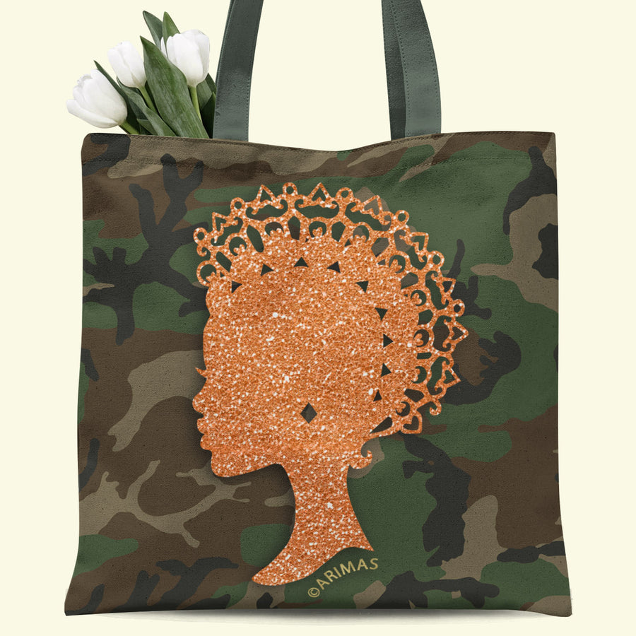 © Camouflage Empress Tote Bag