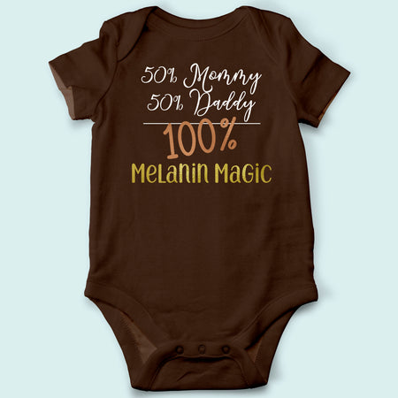 Melanin Magic Baby Onesies (2 Pack)