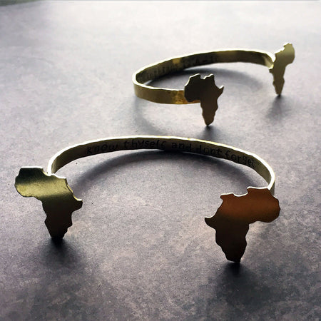 Africa Secret Message Arm Cuff - Arimas