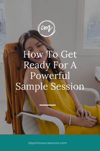 How To Get Ready For A Powerful Sample Session
