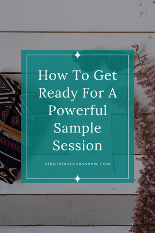 how to have a powerful sample session, clarity call, consult on strategy session