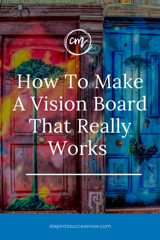 How to make a vision board that works. Vision boards work as a visualization tool to help you reach your life goals.