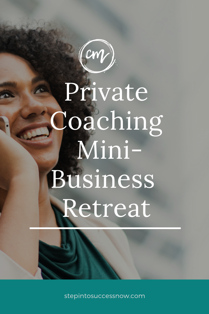 SPECIAL: 90 Minute Private Mini Business Retreat