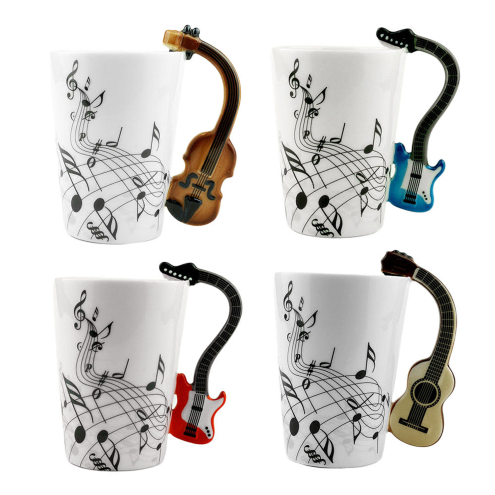GUITAR HERO. Guitar Style Coffee Cup Mug