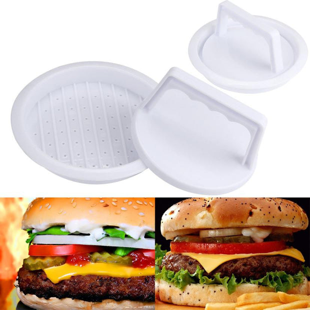 Round Meat Mince BBQ Kitchen Accessories Makke Perfect Burger
