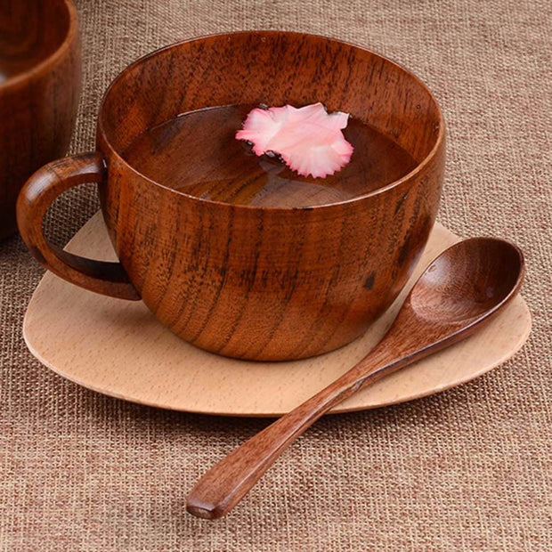 Natural Jujube Bar Wooden Cups