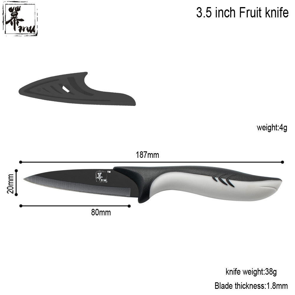 Set of Knife+ Peeler. Set of 4 pcs
