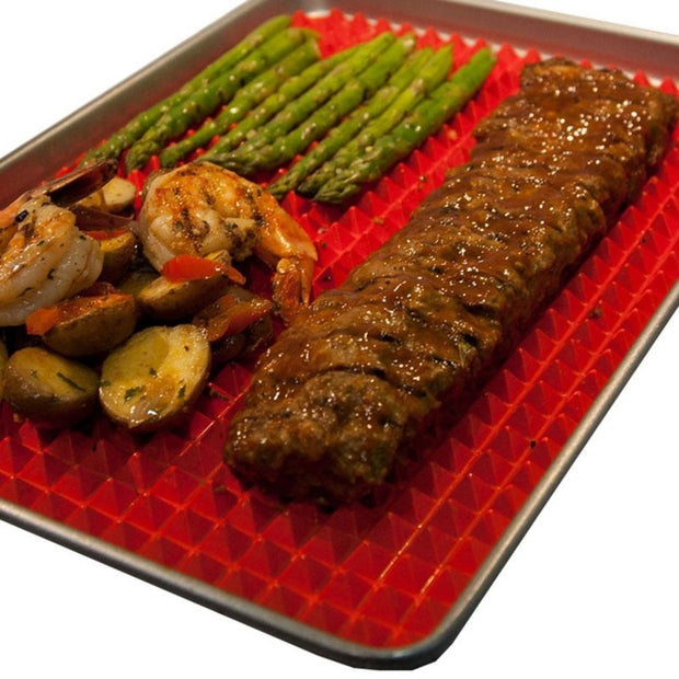 Silicone BBQ Sheet Mat Kitchen Tool